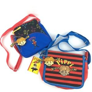 Pippi Longstocking Langstrump Purses Bags Set of 2